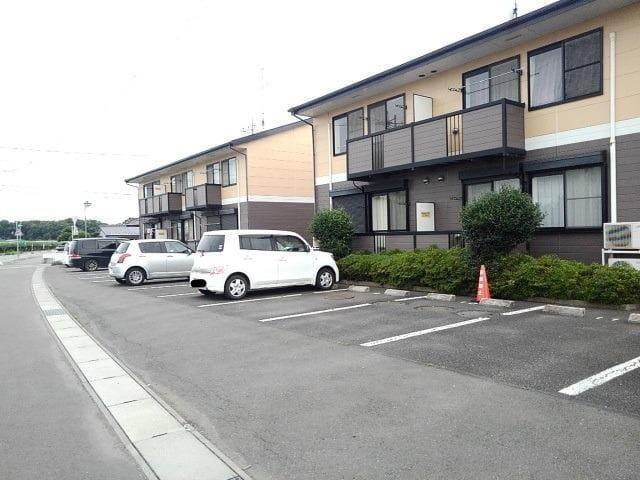 ファミールフジB 02020号室の駐車場