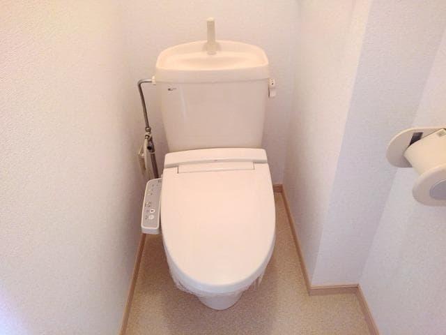 ファミールフジB 02020号室のトイレ