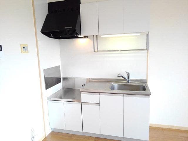 ファミールフジB 02020号室のキッチン