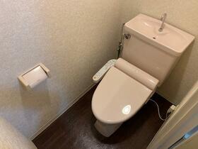 ロハス星川 402号室のトイレ