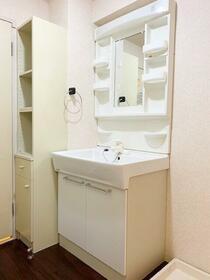 ロハス星川 402号室の洗面所