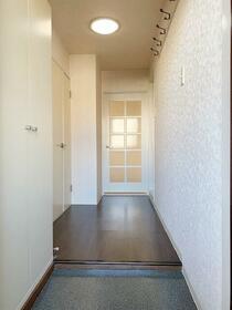 ロハス星川 402号室の玄関