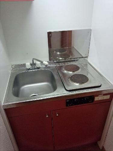 レオパレスFIT TERRASE 101号室のキッチン