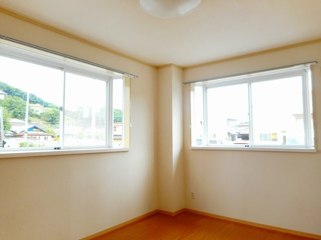 メゾンセントポーリアB 01010号室のバルコニー