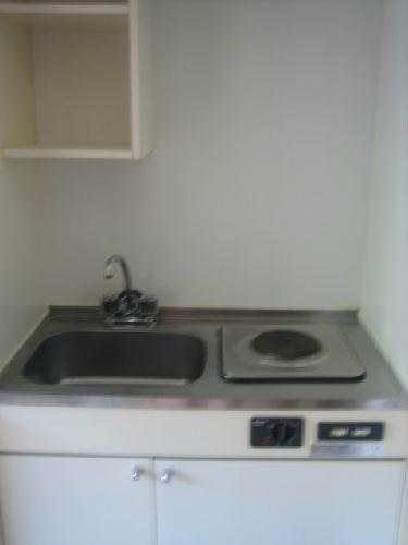 レオパレスSAFURAN 204号室のキッチン