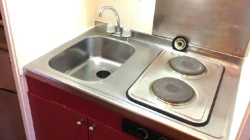 レオパレスシーグリーン 104号室のキッチン