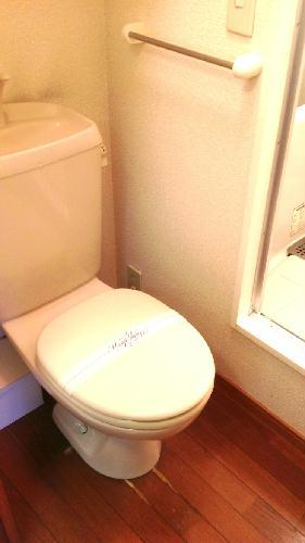 レオパレスシーグリーン 104号室のトイレ