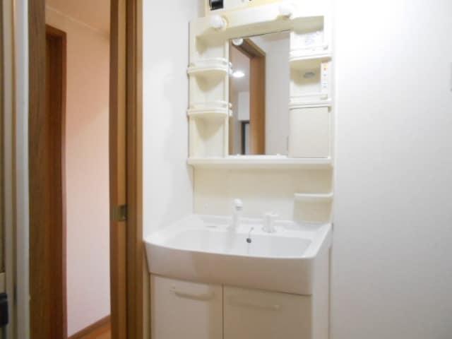 エムエフ キングダム 02010号室の洗面所