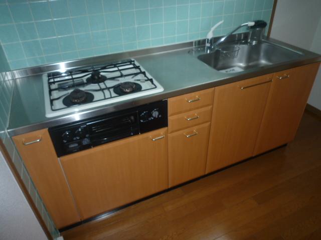 エムエフ キングダム 02010号室のキッチン