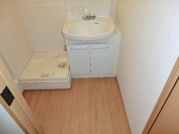 Prelude0430 101号室の洗面所