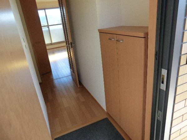 Prelude0430 101号室の玄関