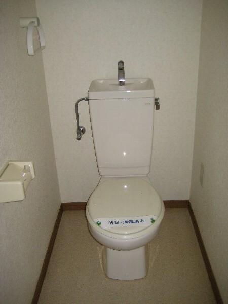 レジデンス富士 301号室のトイレ