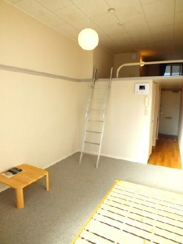 レオパレスアルジャン 101号室のリビング