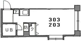 オーガスタンベイ・0303号室の間取り