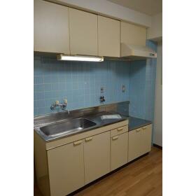 行友ハイツⅡ 00301号室のキッチン