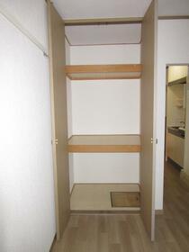メゾンサンライズ 102号室の収納