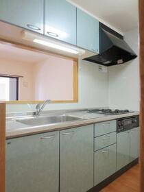 グランビュー 102号室のキッチン