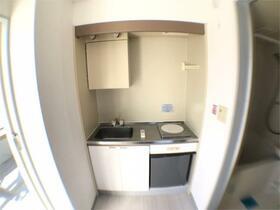 マルコシコーポ 401号室のキッチン