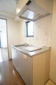 ヴィラ・オーキッド 506号室のキッチン