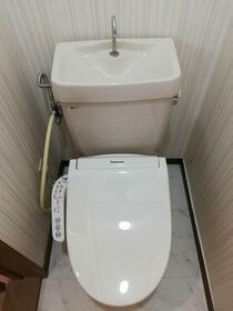 シーサイドタケウチ21 B棟 202号室のトイレ