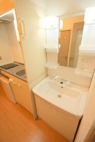 メゾングランドール2 206号室の洗面所