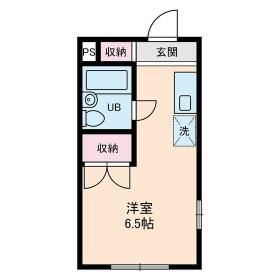 石神井台高野マンション・0206号室の間取り