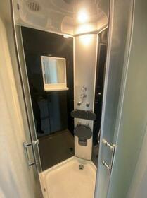 アップルハウス三ツ沢A 201号室の洗面所