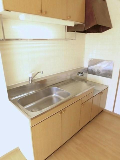 グリーンハイツ藤ヶ谷Ⅰ 01030号室のキッチン