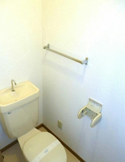 グリーンハイツ藤ヶ谷Ⅰ 01030号室のトイレ