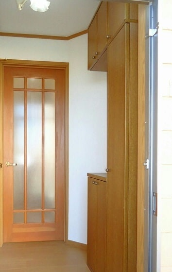 グリーンハイツ藤ヶ谷Ⅰ 01030号室の玄関