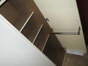 ドミール玉川学園 110号室の収納