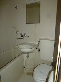 ハイムさんきパート13 306号室の風呂