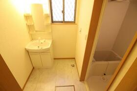 エクセルハイム 203号室の洗面所
