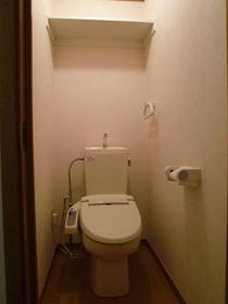 ザ・コートヤード 101号室のトイレ