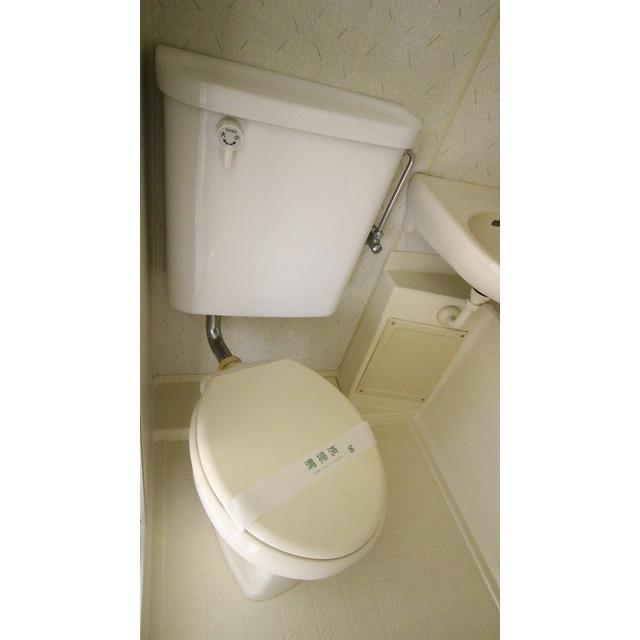 Flats7 203号室のトイレ