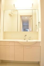 メゾンN 京都 三十三間堂 101号室の洗面所