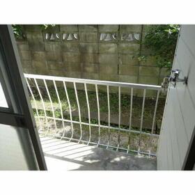 熊本荘 102号室のバルコニー