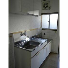 熊本荘 102号室のキッチン