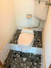 茗荷(みょうが)ハイツ 201号室のトイレ