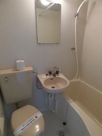 フラット日進 201号室の風呂