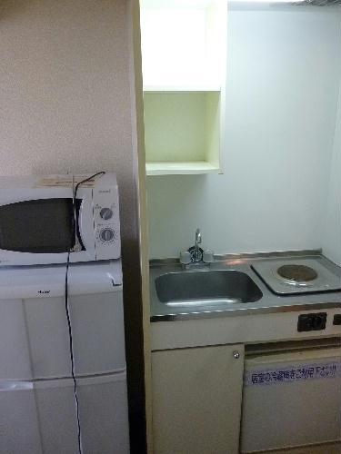 レオパレス榎 102号室のキッチン