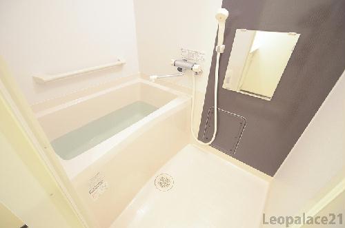 クレイノS&S 102号室の風呂