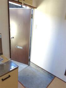 チェリーヒル小林III 101号室の玄関