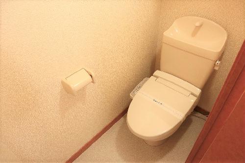 レオパレスグランディール 205号室のトイレ