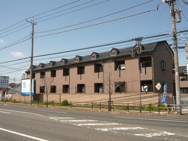 スクウェアコートC棟 205号室の外観