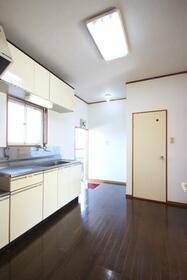 メゾン・ルーチェ Ⅱ C棟 21号室のキッチン