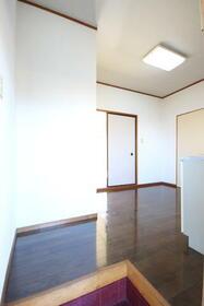 メゾン・ルーチェ Ⅱ C棟 21号室の玄関
