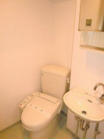 エクセリア芝大門 304号室の洗面所