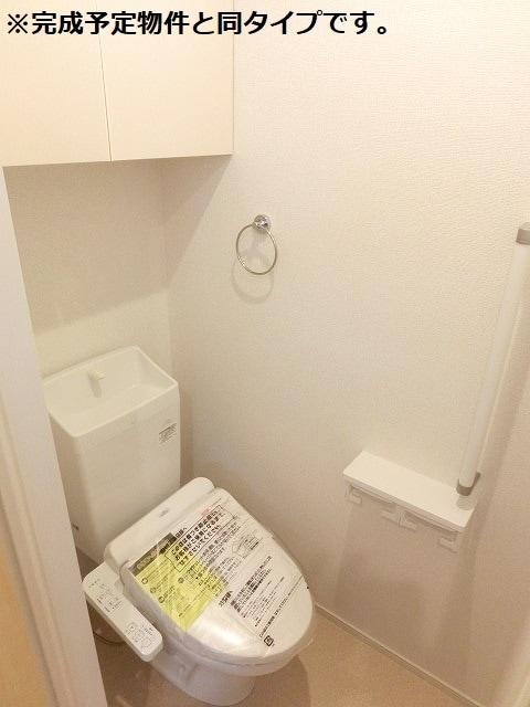アクアリージョン津Ⅲ ウエスト 01040号室のトイレ
