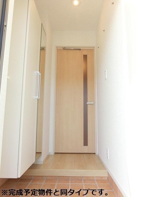 アクアリージョン津Ⅲ ウエスト 01040号室の玄関